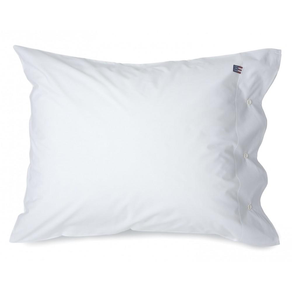 Pin Point White Pillowcase