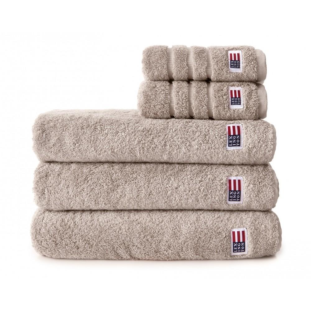 Lexington original towel - tan 30x50cm
