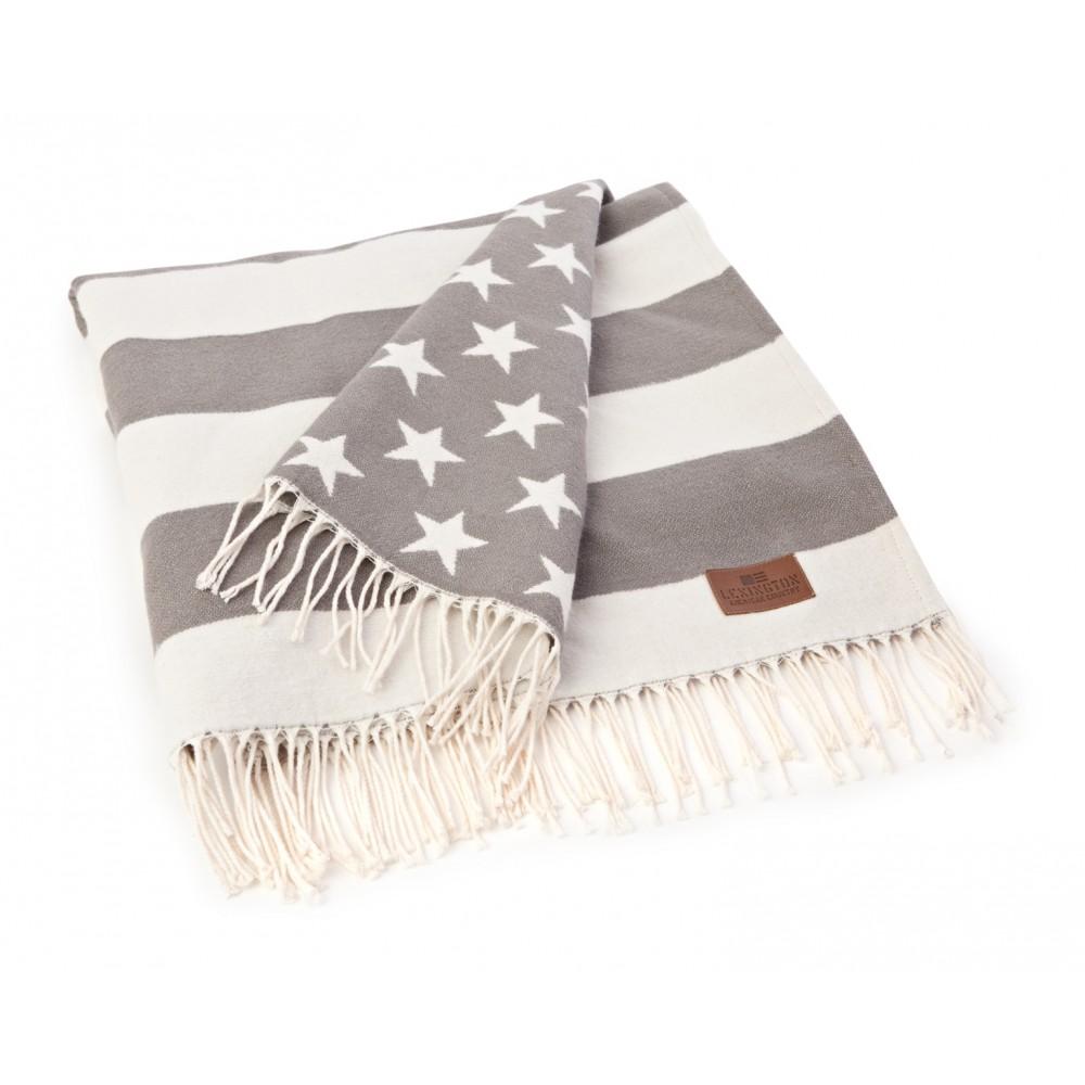 Flag Throw White/Grey