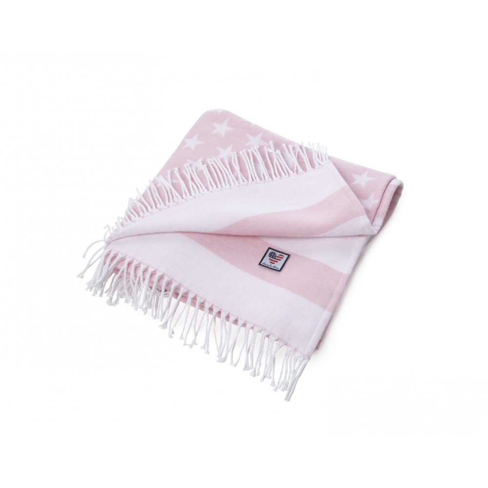 Baby Flag Throw - Pink