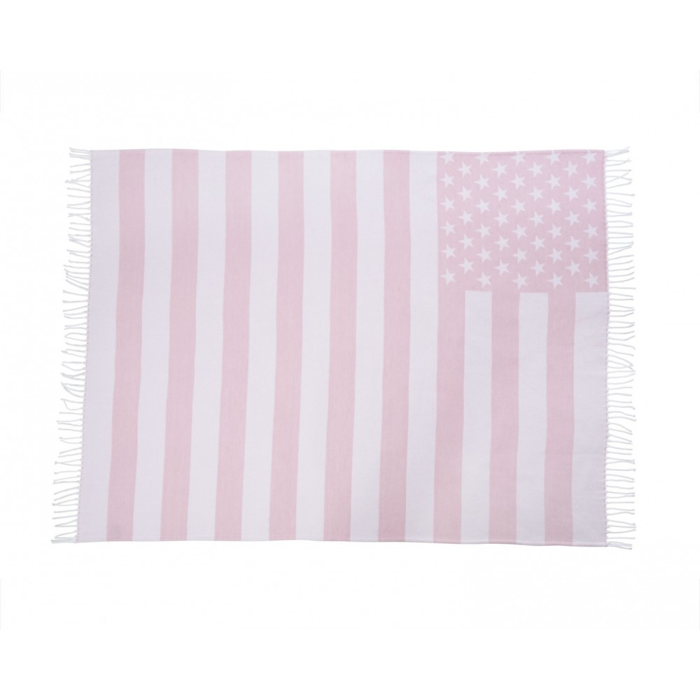 Baby Flag Throw Pink-02