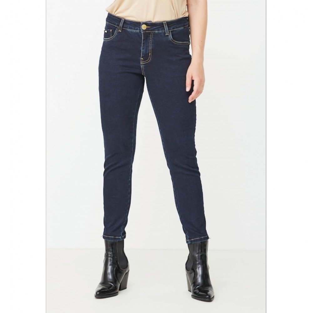Lido Zip Jeans, denim blue unwashed
