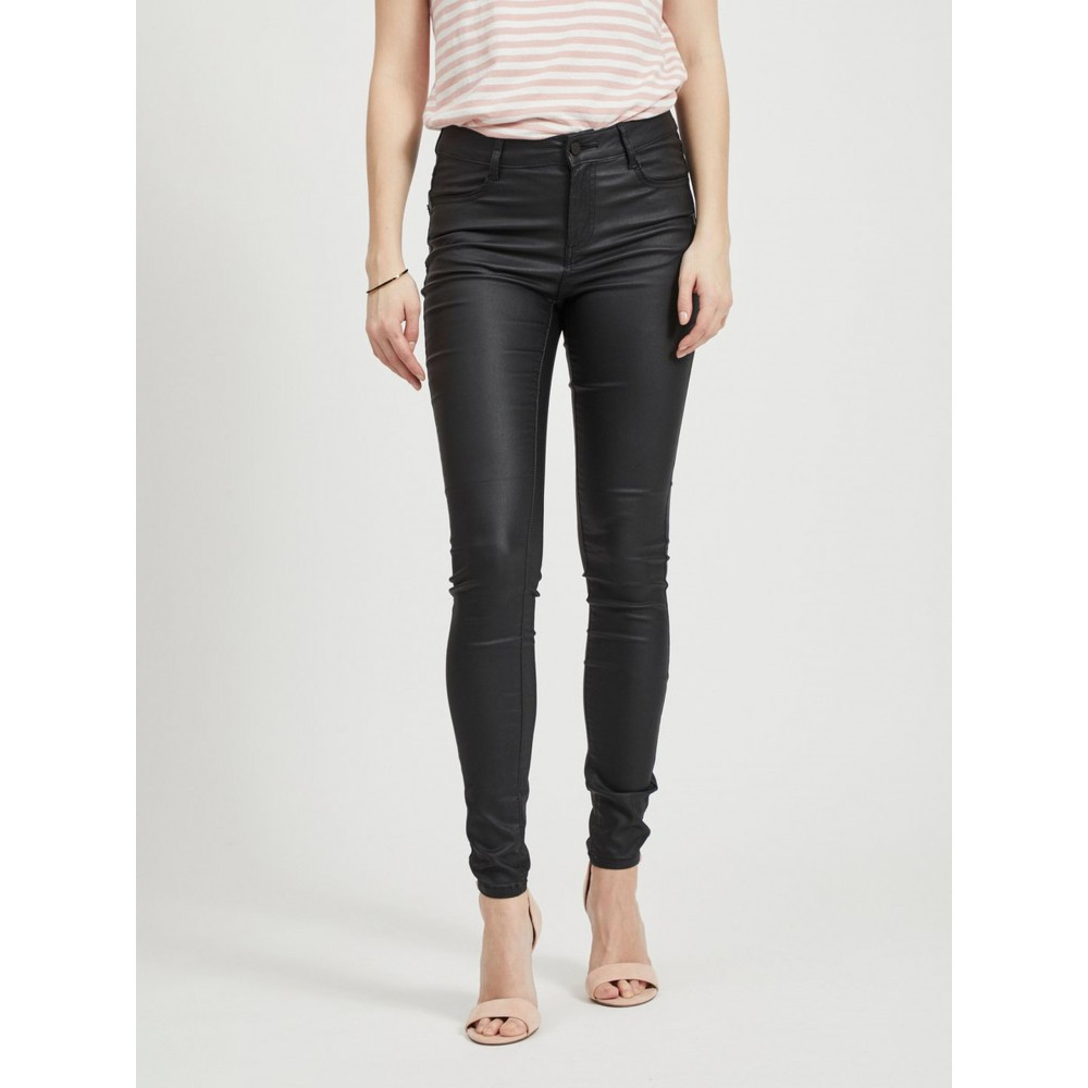 Coated Skinny Fit Jeans-01