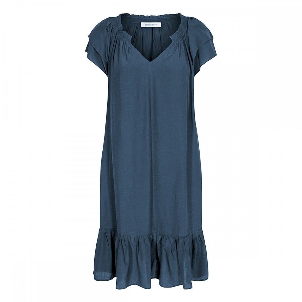 Co´couture Sunrise Cropped Dress sky blue