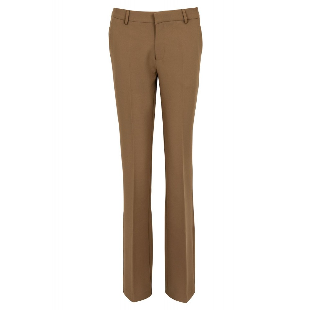 Cassie F Pants - Dark Taupe