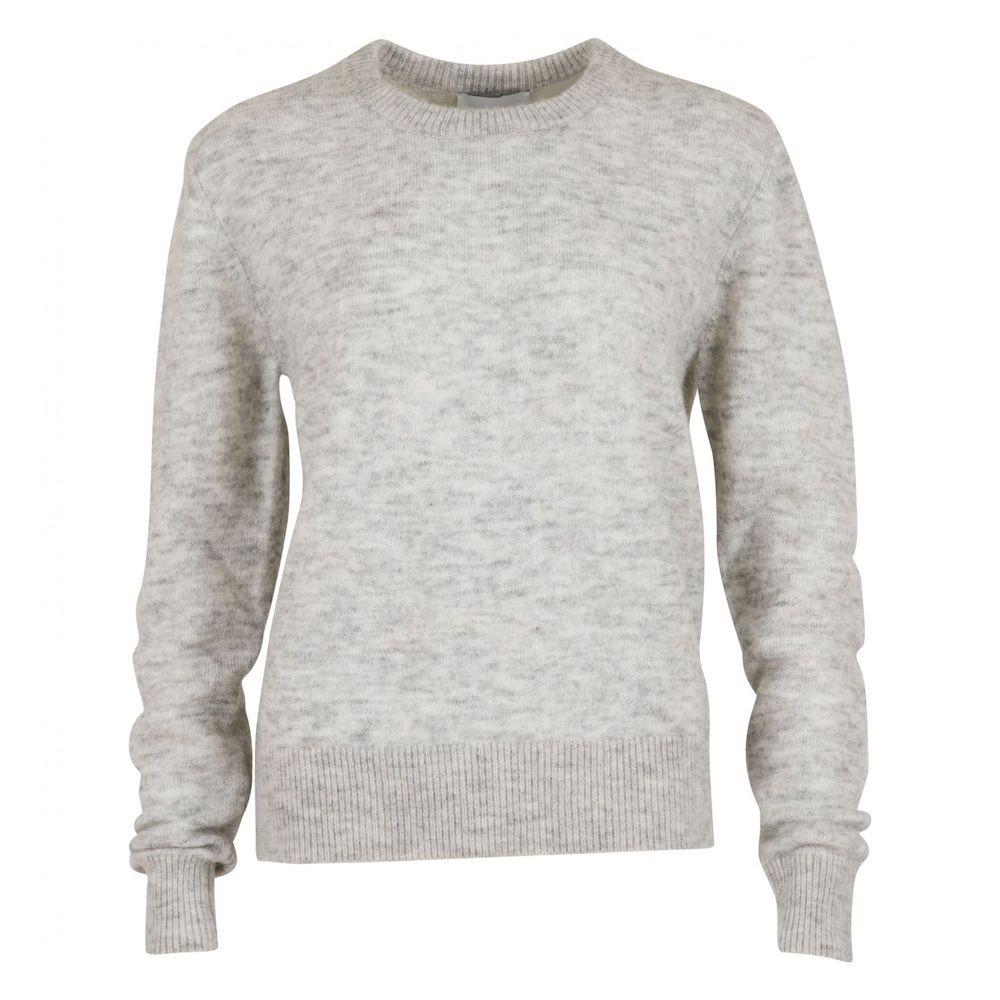 Dina Knit - Light Grey Melange