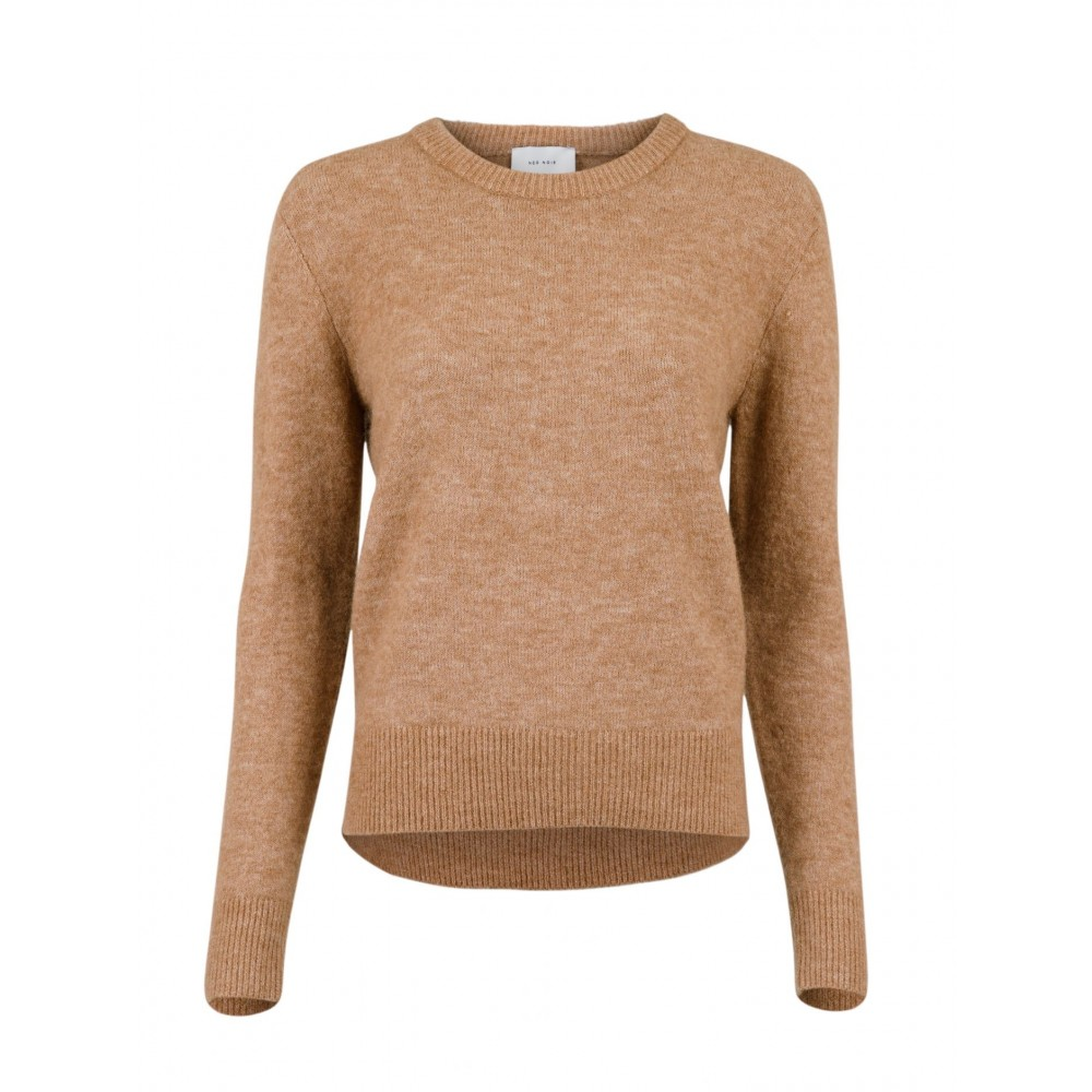 Dina Knit, Brown Melange