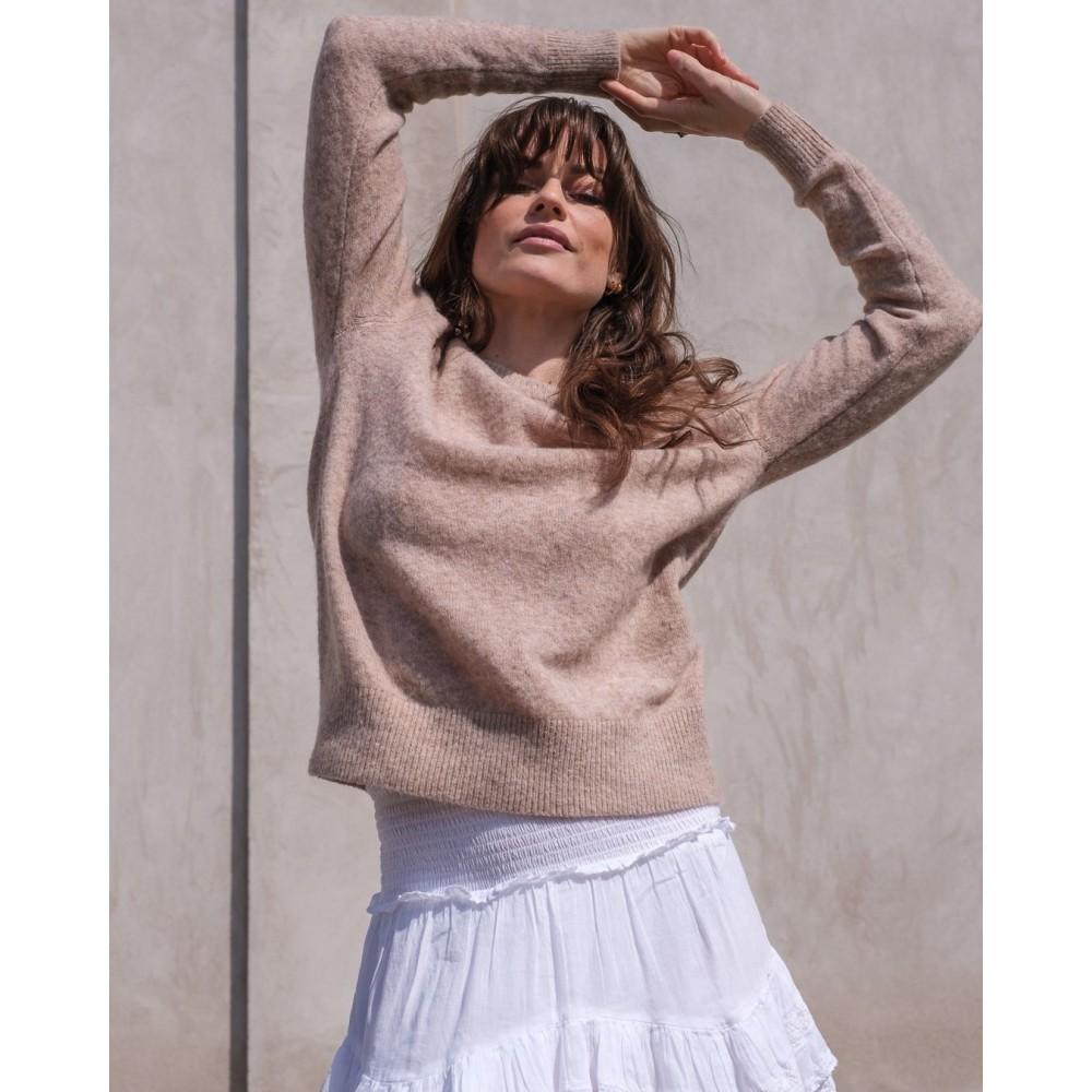 Dina Knit - beige melange