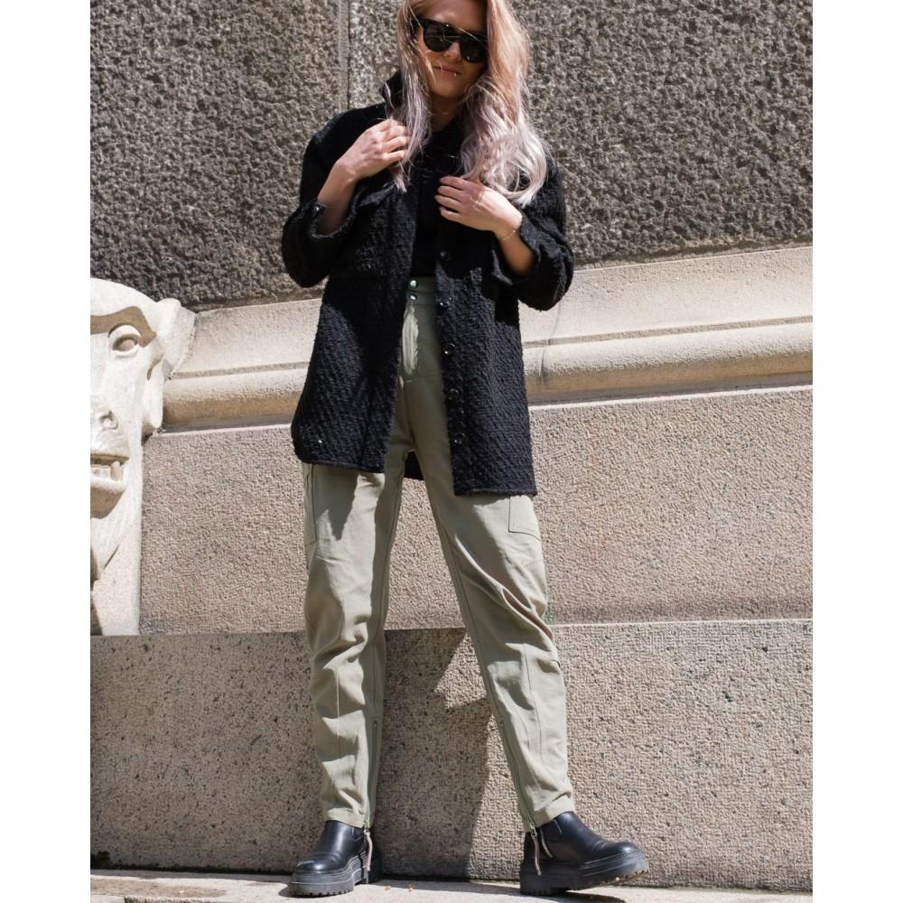 Lin Boucle Jacket - Black