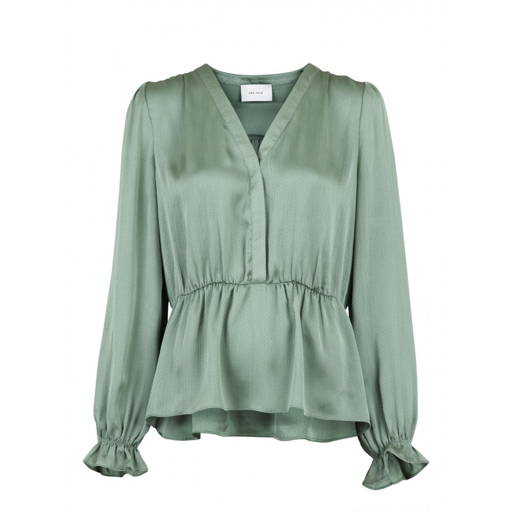 Elise blouse, dusty army