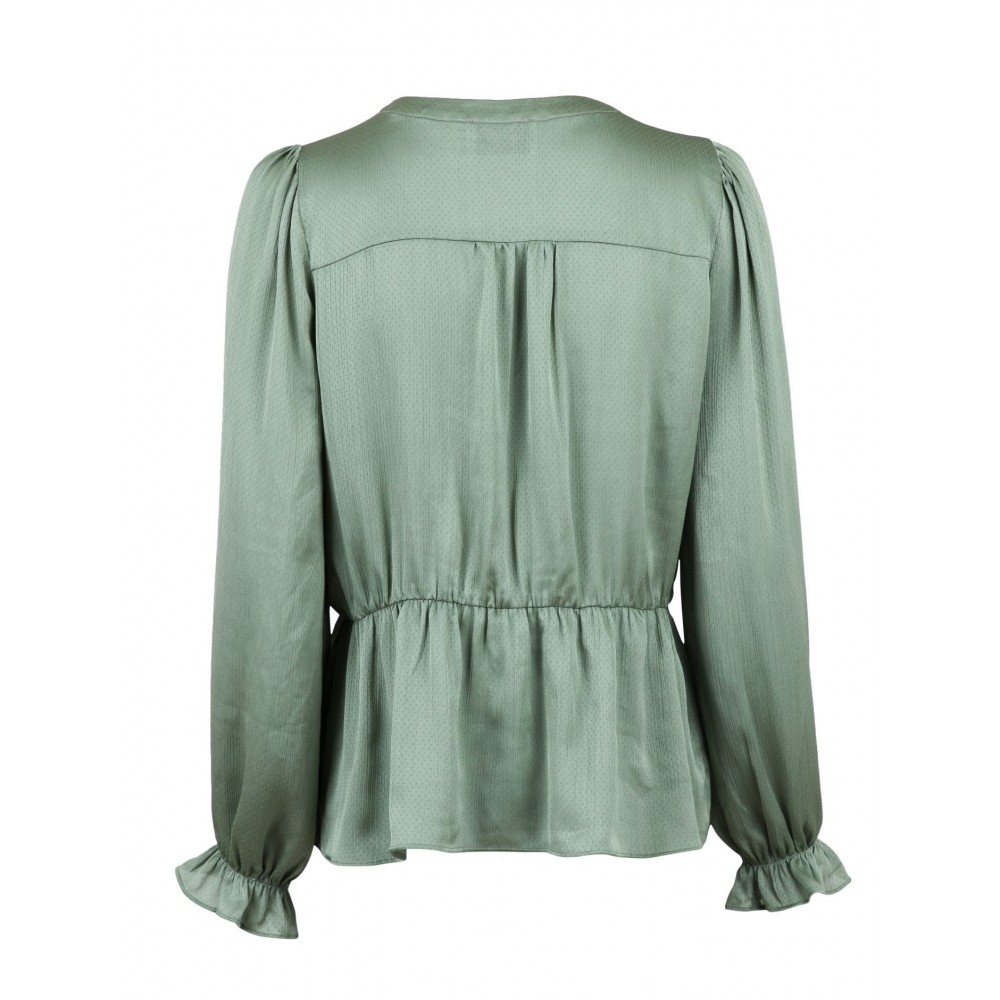 Elise blouse, dusty army-01