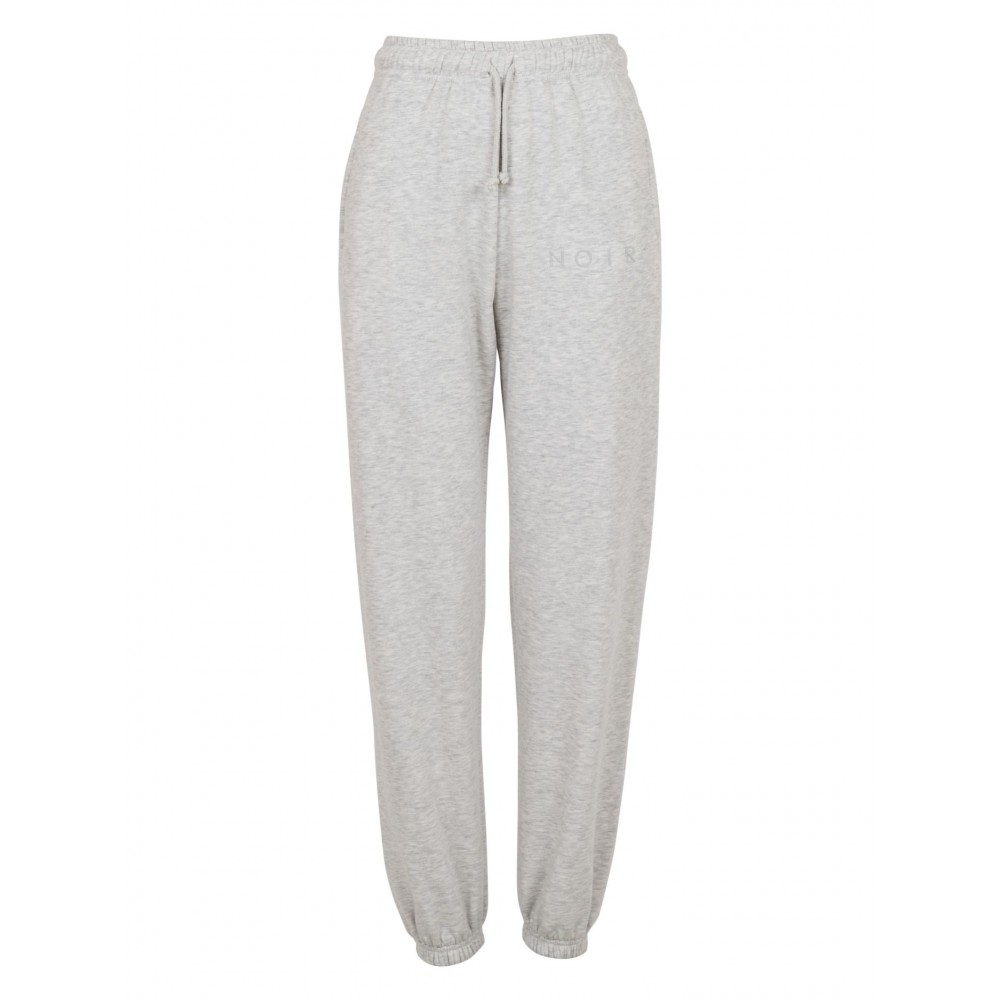 Jocelyn Sweat Pants, Light Grey