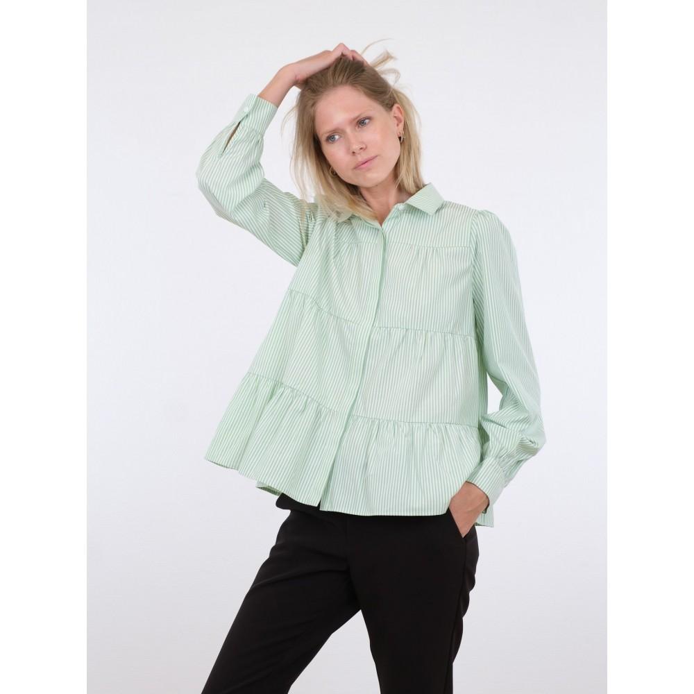 Rica stripe shirt - green