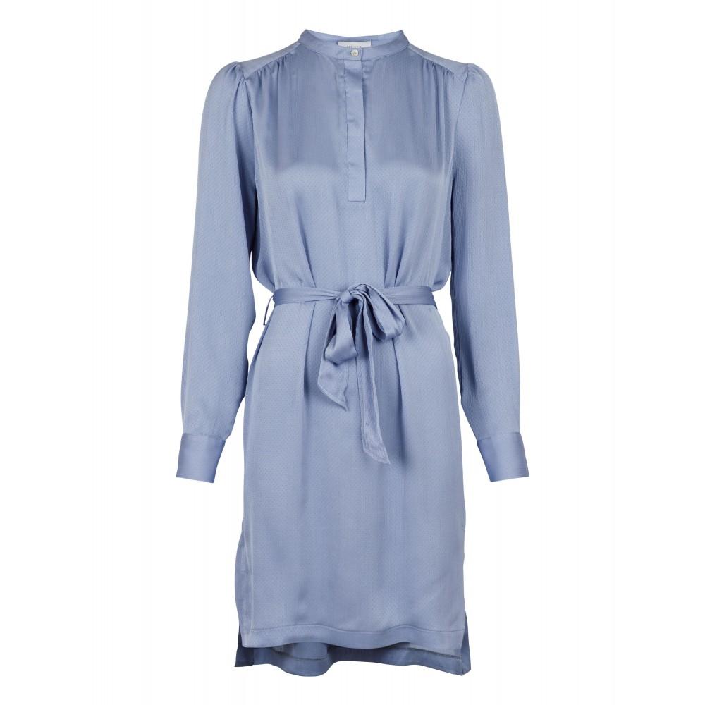 Viby shirtdress - dusty blue