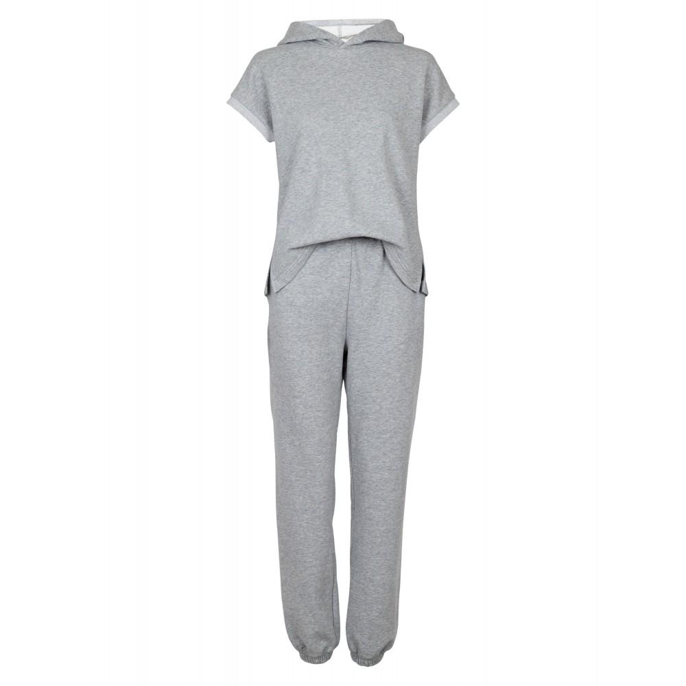 Uma light sweat jumpsuit - light grey