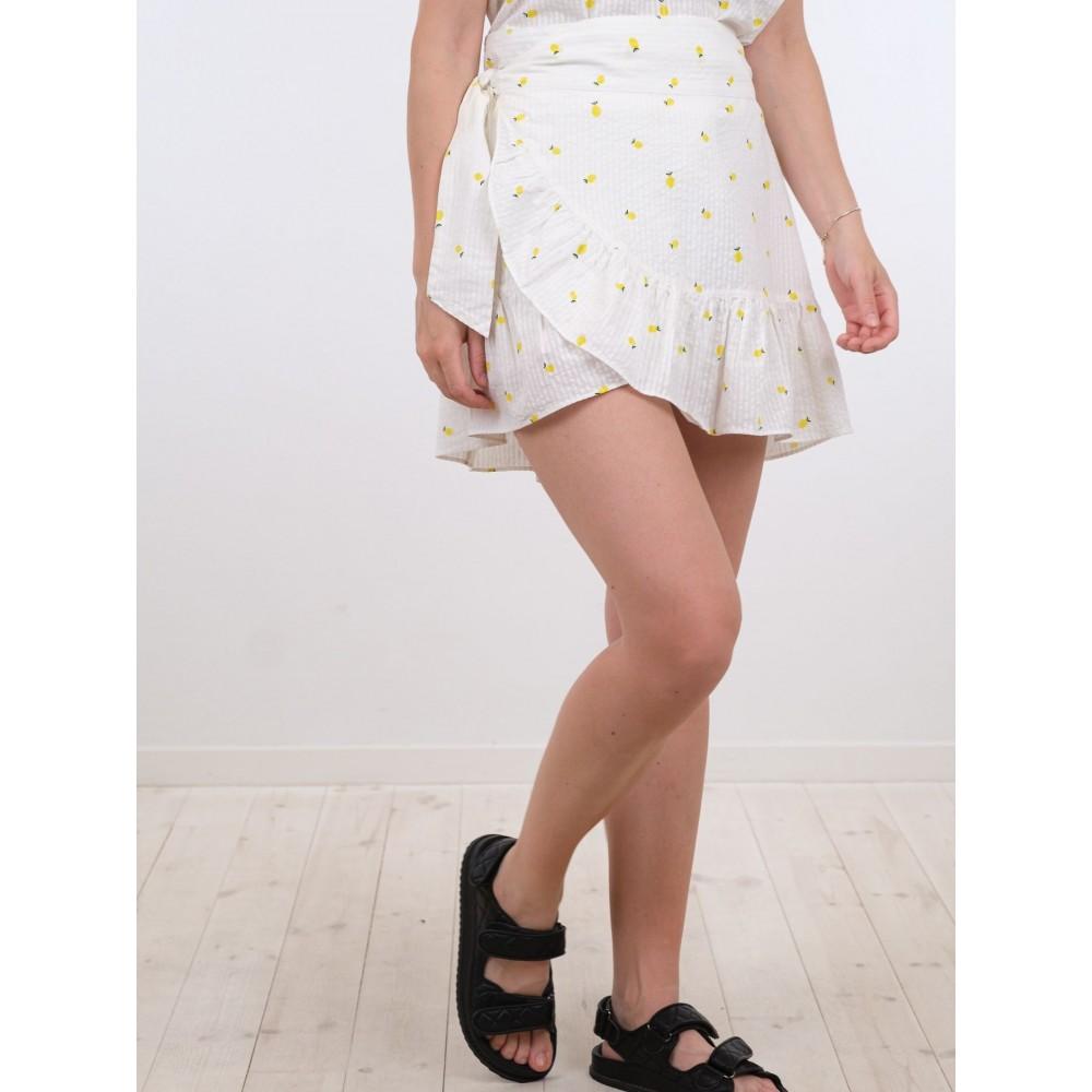 Chrissy Lemon Skirt - Lemon Drop