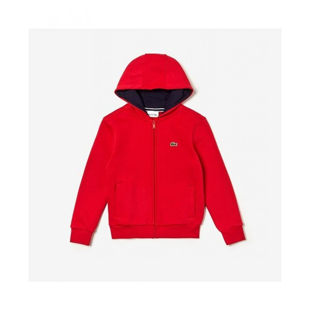 Lacoste Hoodie Red