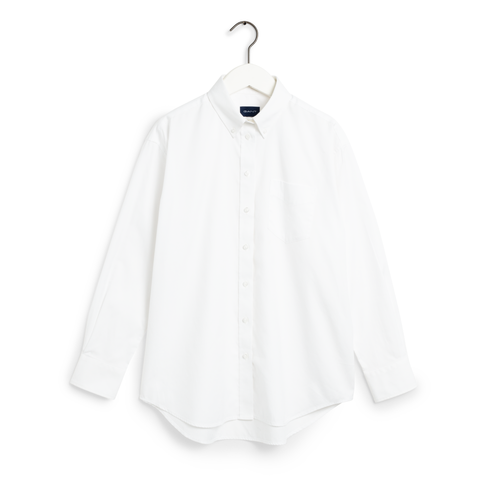The PP Solid Relaxed Shirt, white