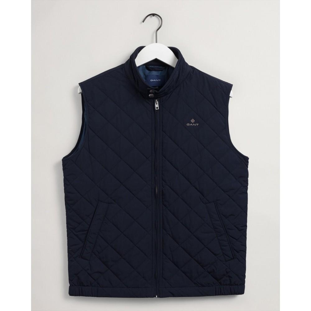 Quiltet Windcheater vest