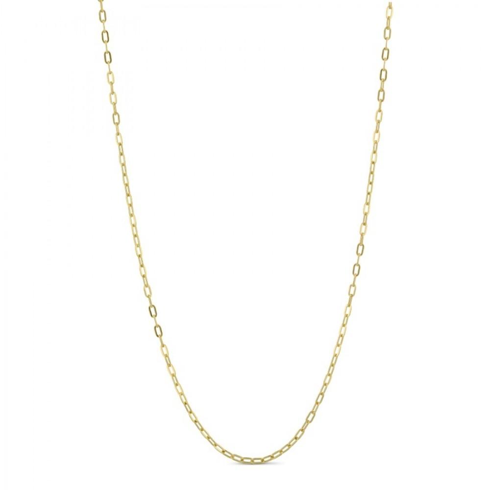 Lænkekæde 65 cm - guld