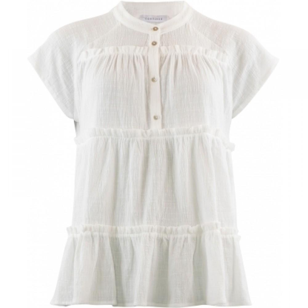 Jytte blouse - white