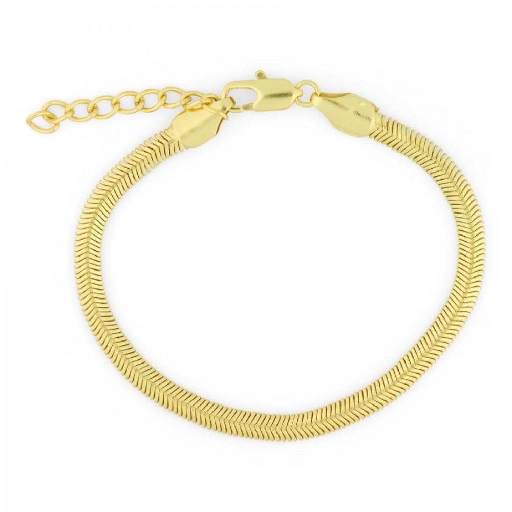 Snake armbånd - guld
