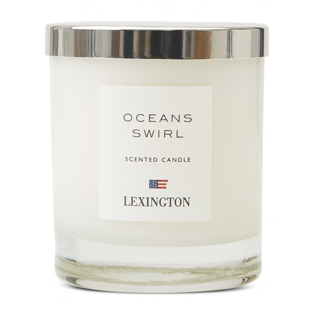 Casual Luxury Oceans Swirl Scented Candle