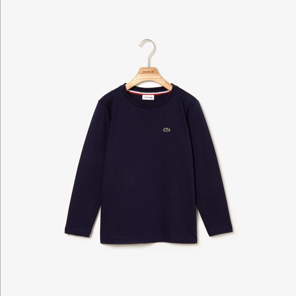 Langærmet T-shirt - Navy Blue