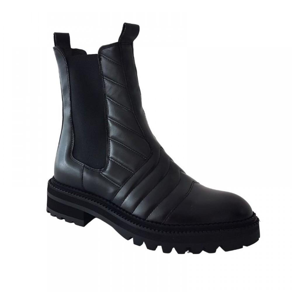 Black Calf støvle-01