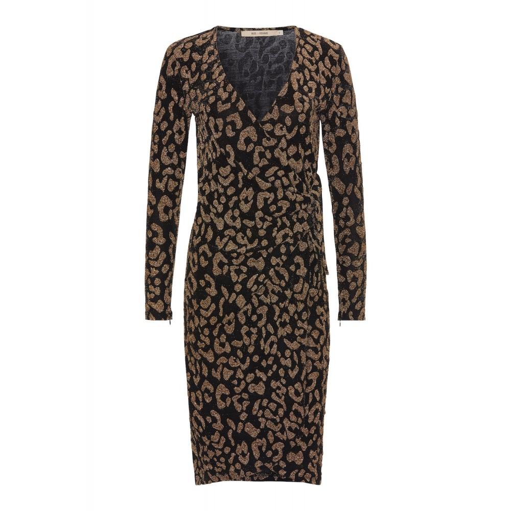 Conny Dress Black & Gold