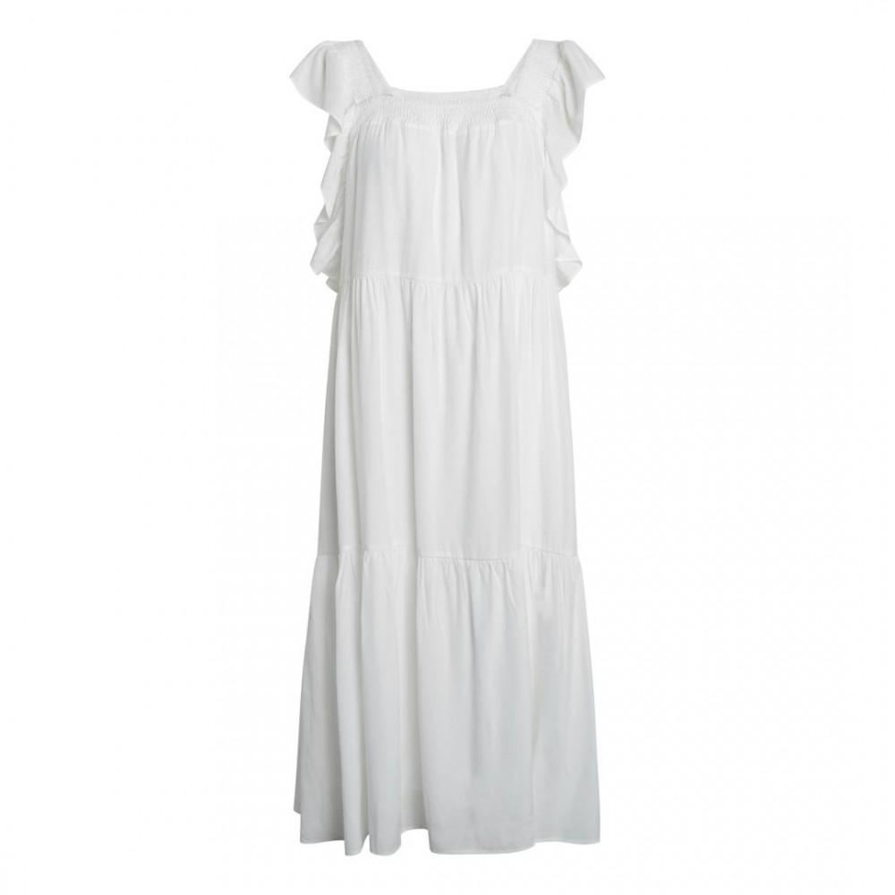 Sunrise smock dress - white