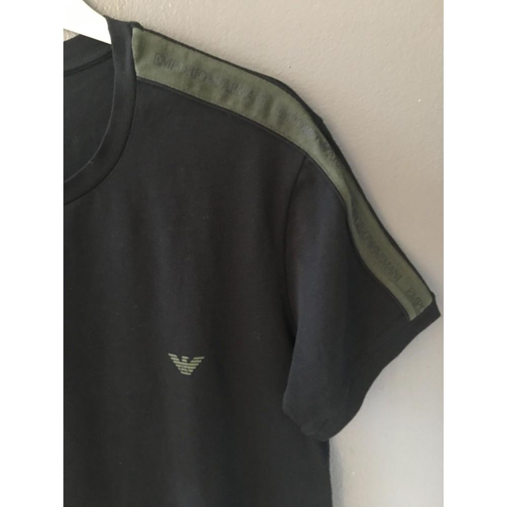 CrewNeckTshirtSSleeveblackgreen-01