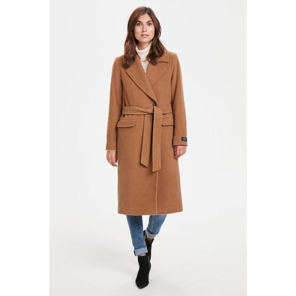 Sonia OTW frakke - brown