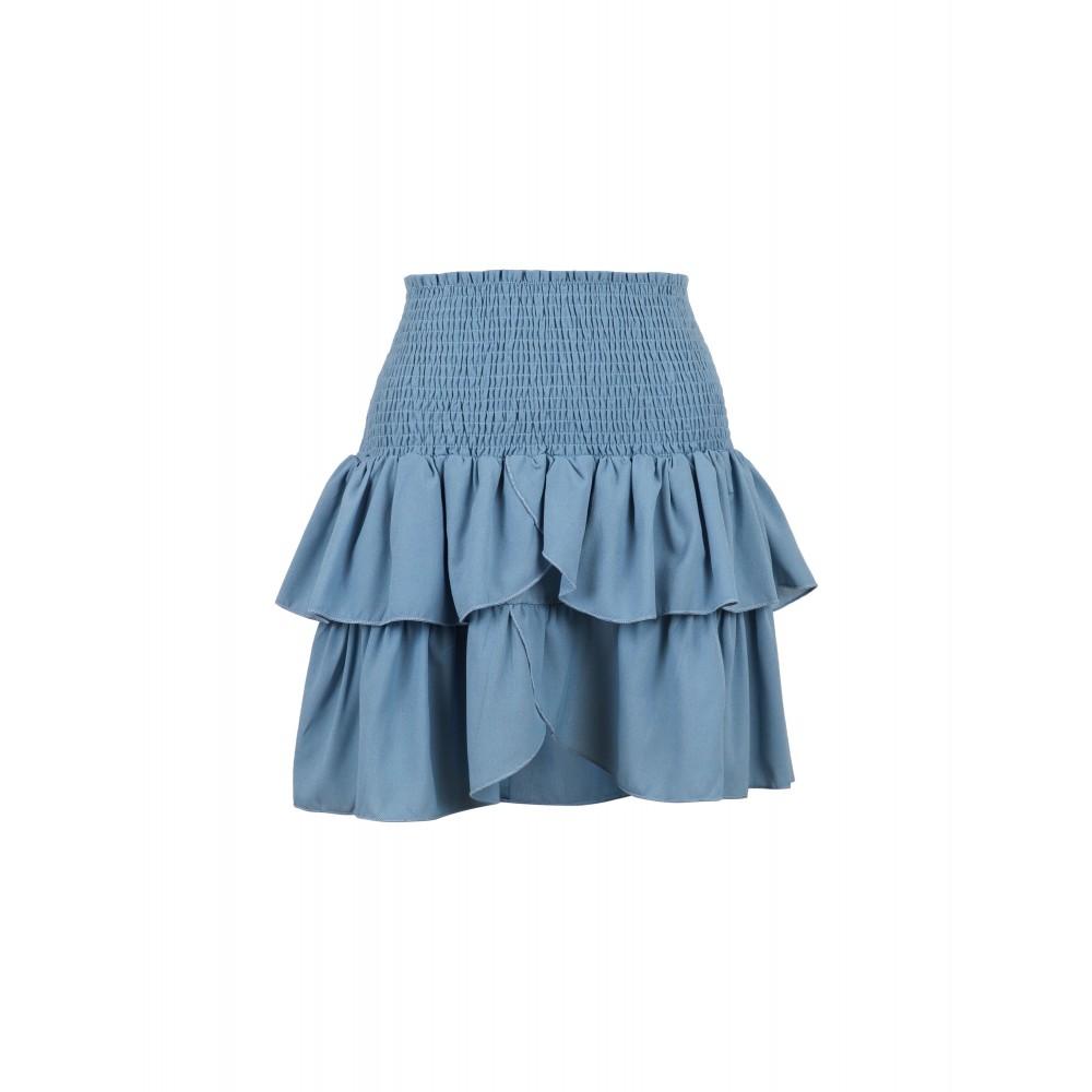 Carin skirt - blue wave