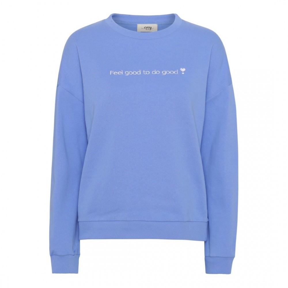 Comfort blouse - Provence blue