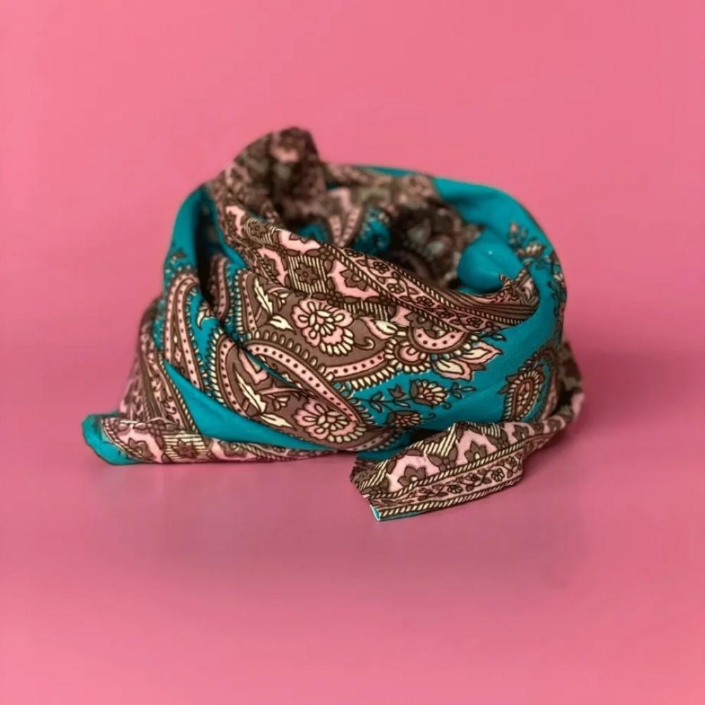 Channi tørklæde - 1834 blå