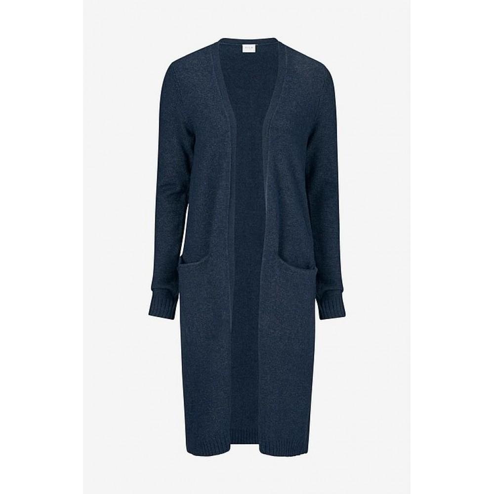 Viril Long L/S Knit Cardigan - fav Blue/ Melange