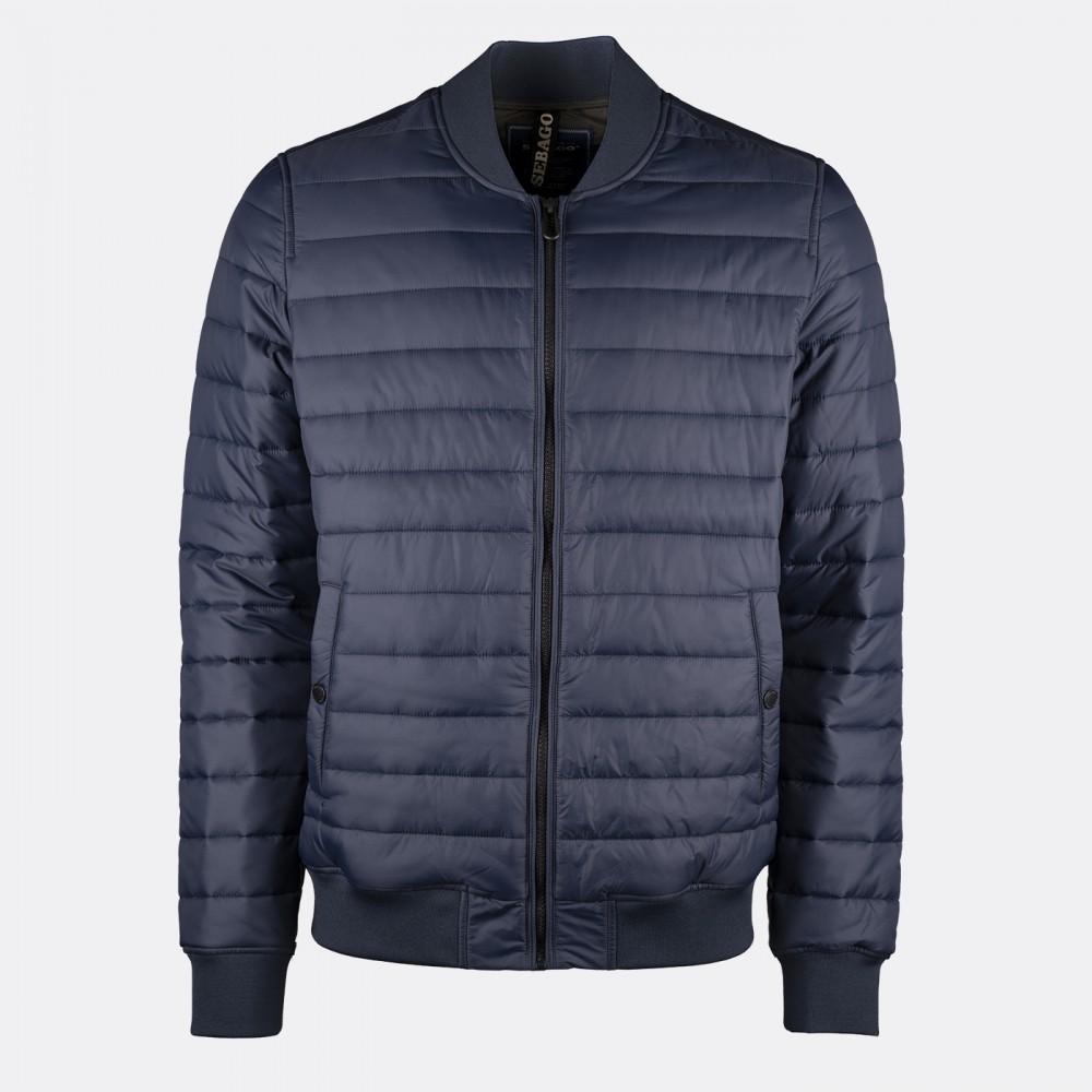 Light bomber jacket - navy