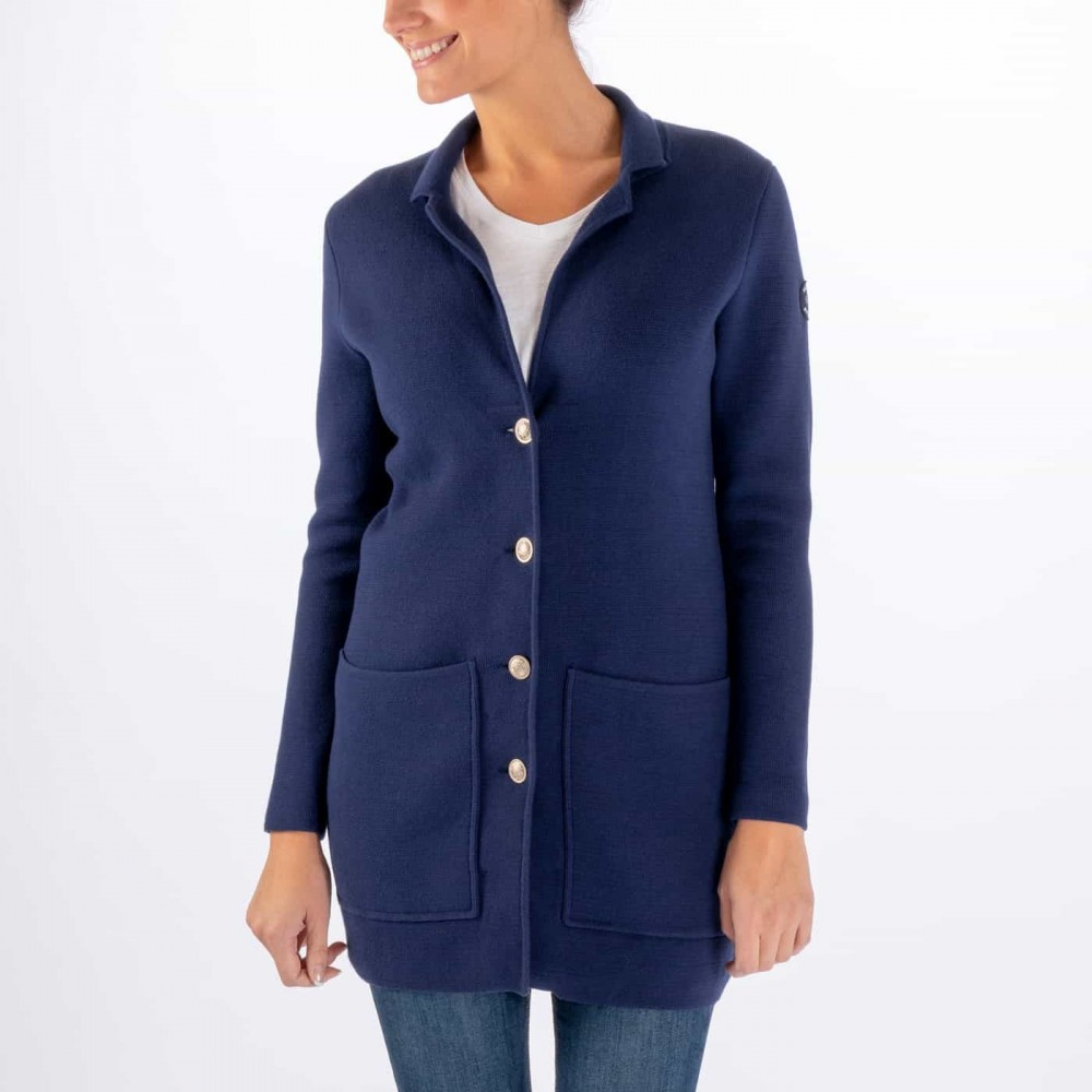 Nautical cardigan - navy
