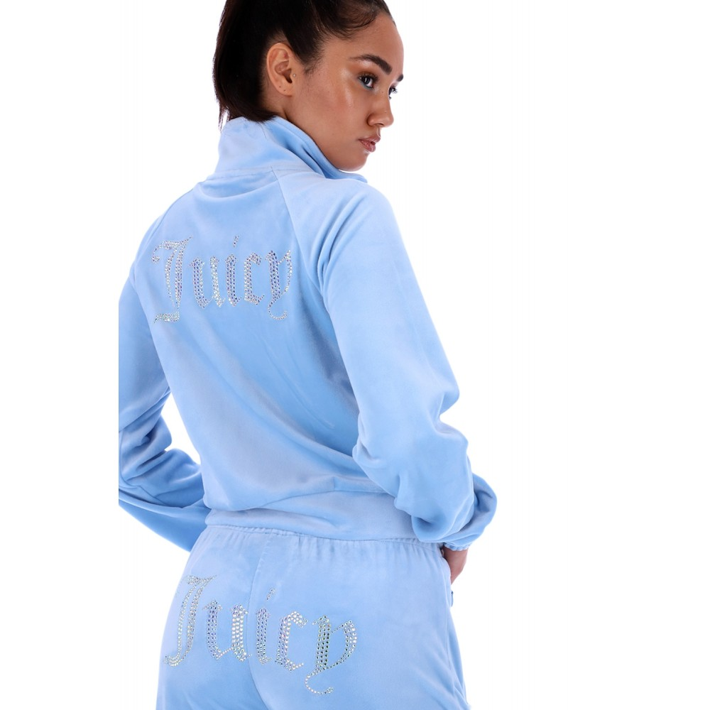 SS21 Juicy couture - Tanya track top - powder blue