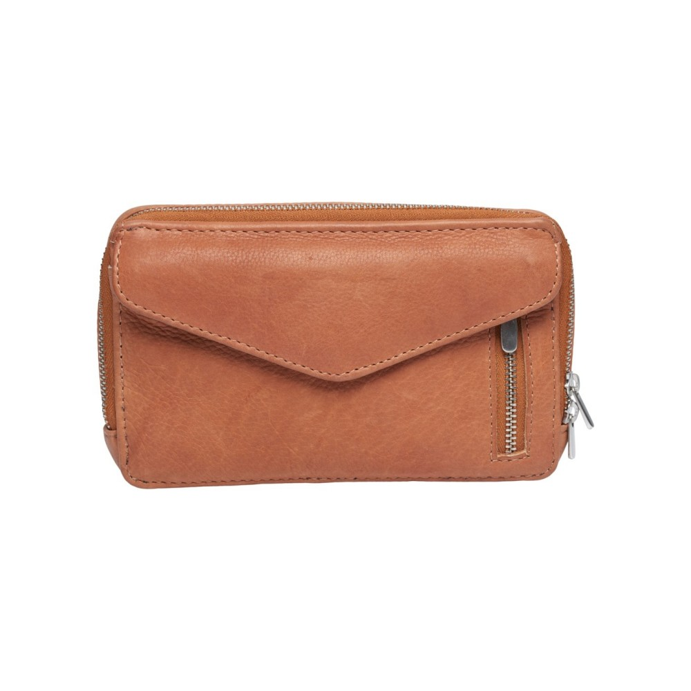 Christiane mini Clutch, Cognac