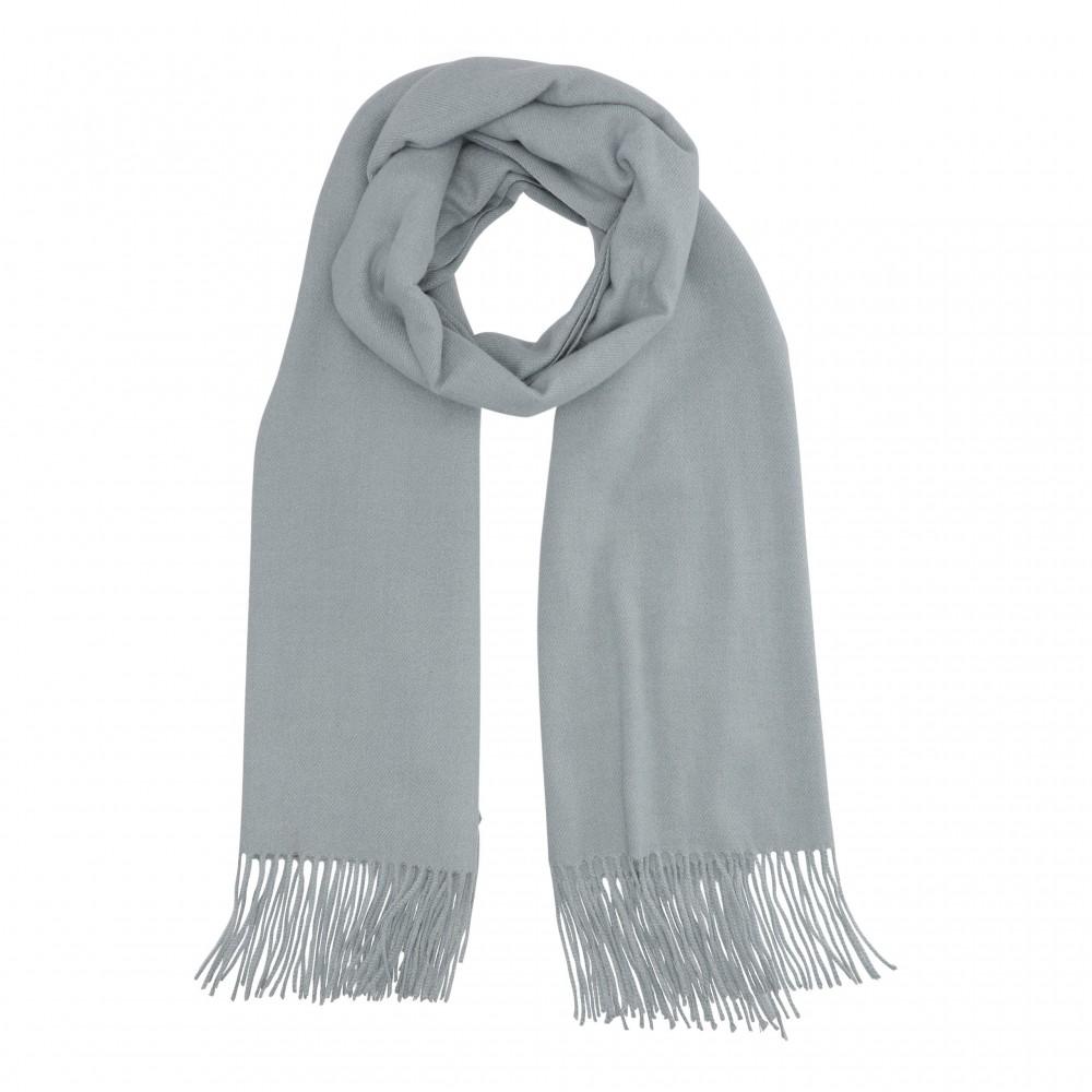 Cozy classic scarf, blue