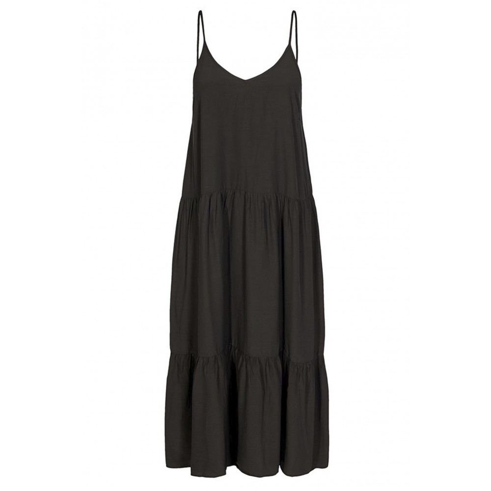 Co'Couture New gipsy strap dress - black
