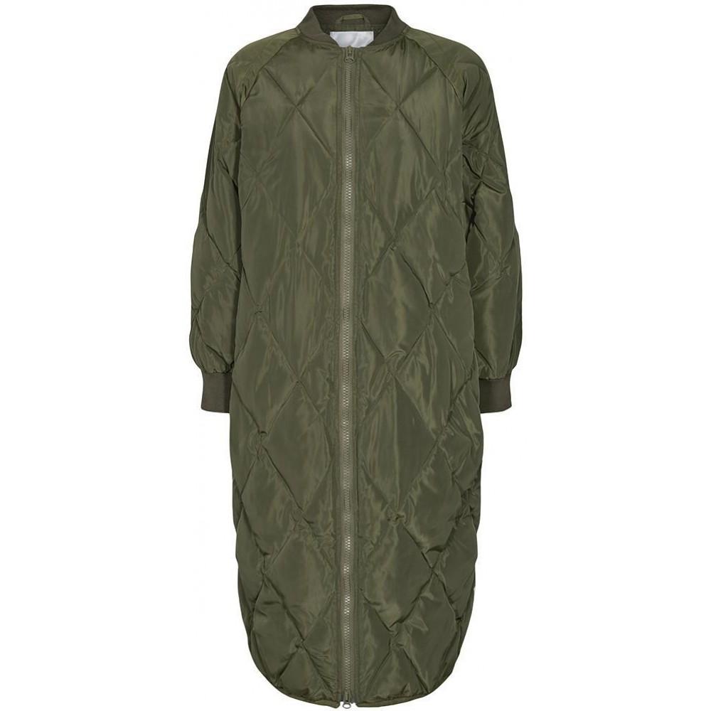 Amanda quilt coat, Army