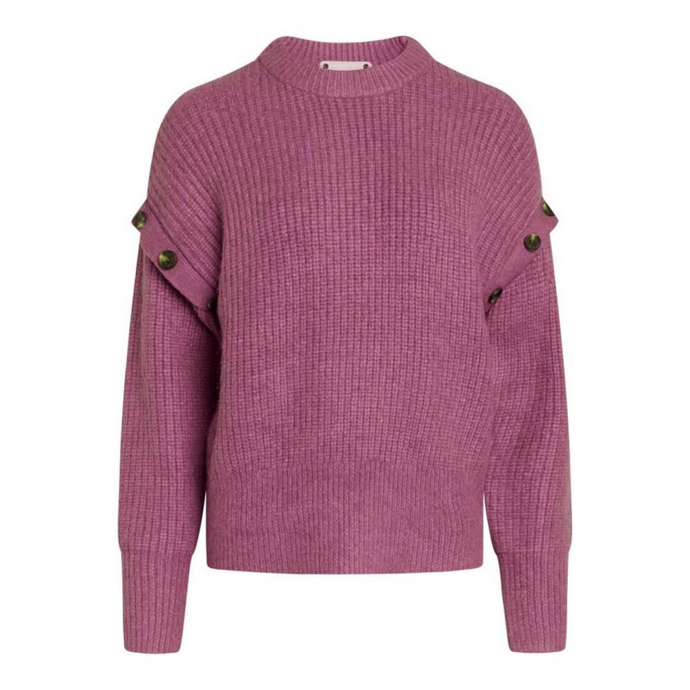Rowie Button Knit