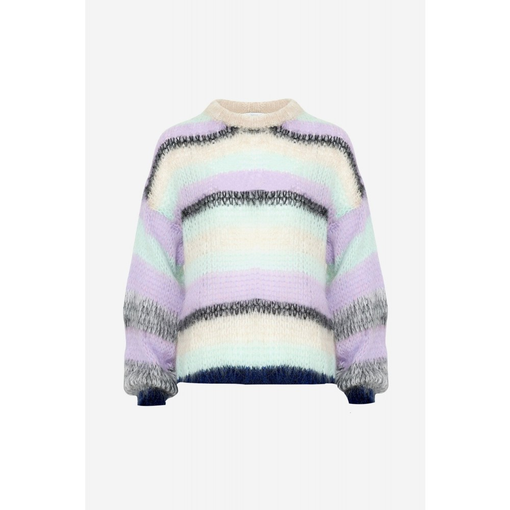 Delta Knit, Lavender/mint
