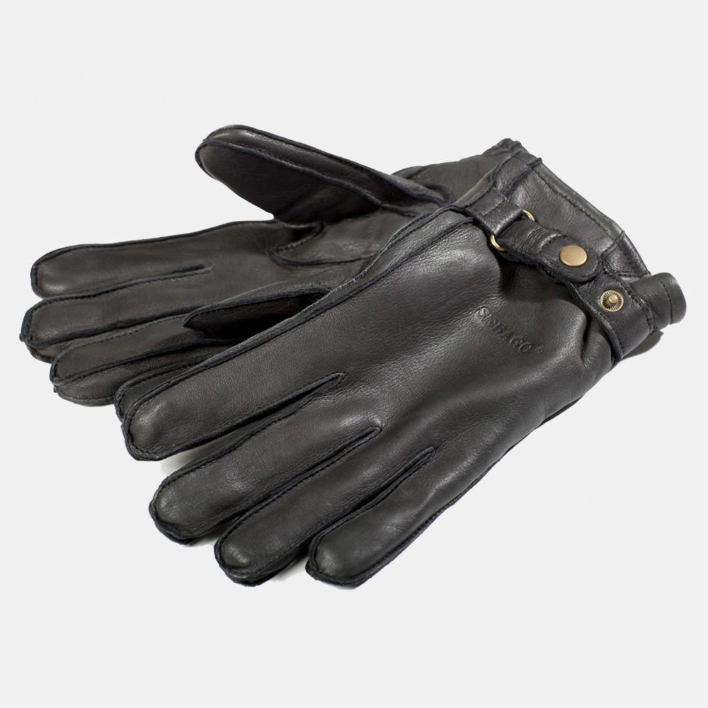 Deerskin Gloves Black