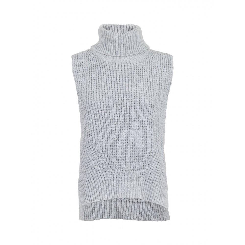 Jamie knit waistcoat, grey