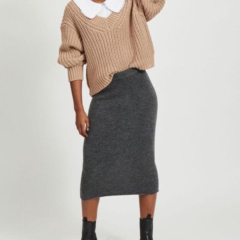 Vimany pencil skirt - grå