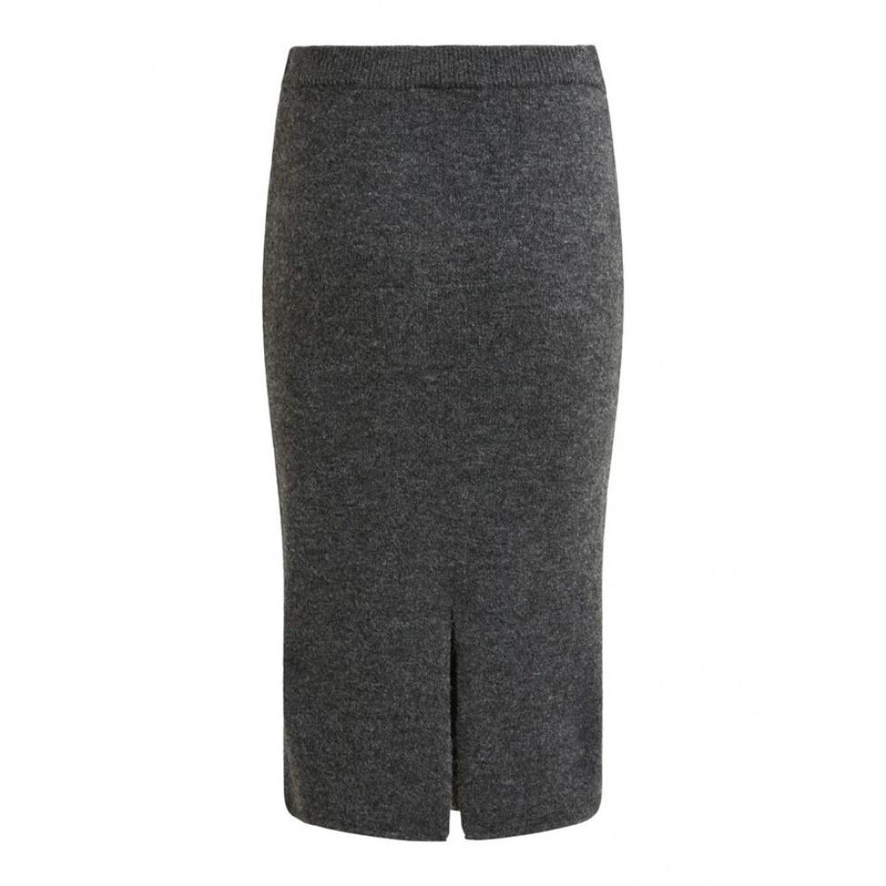 Vimany pencil skirt grå-01